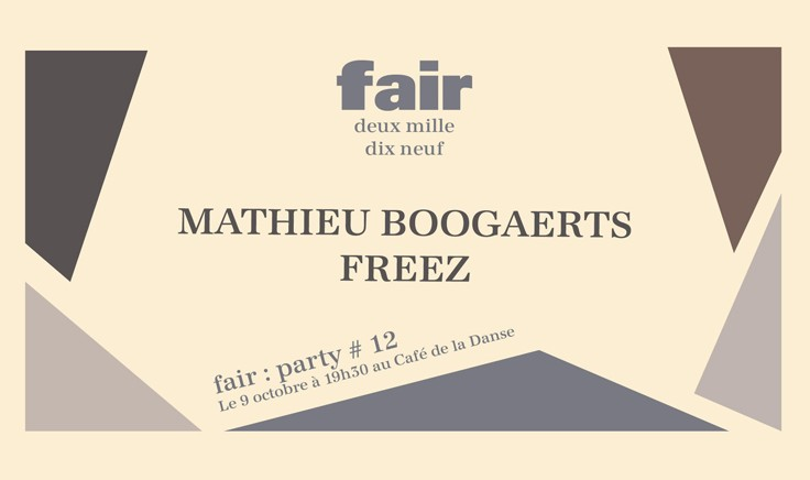 le fair soirées d'octobre Dancing Feet