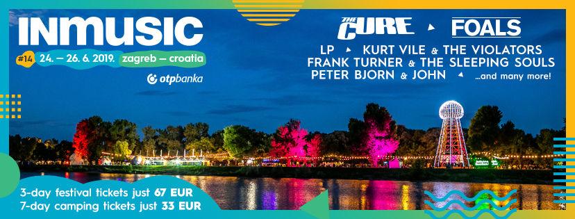 inmusic festival croatie line up the cure foals