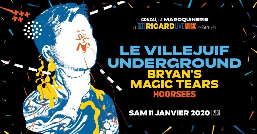 soirée janvier 2020 paris villejuif underground