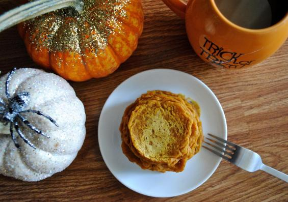 Dancing For Donuts | Pumpkin Pie Pancakes.