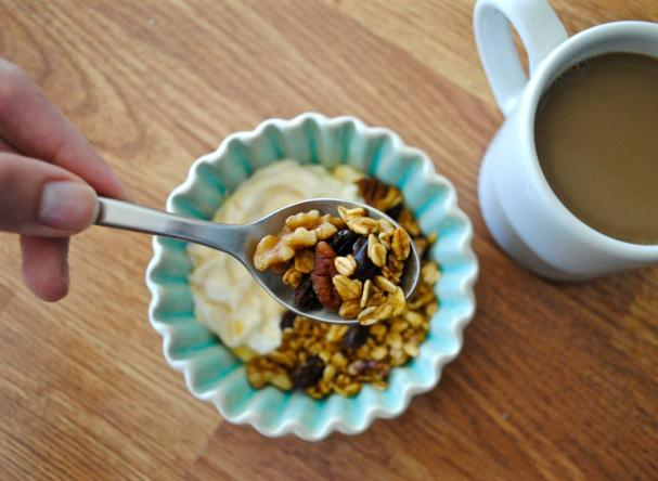 Dancing for Donuts | Slow-Cooker Pumpkin Maple Granola.