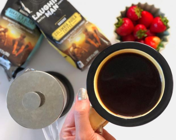 Dancing for Donuts | A Morning Cup That Gives Back (with Laughing Man Coffee) #ad