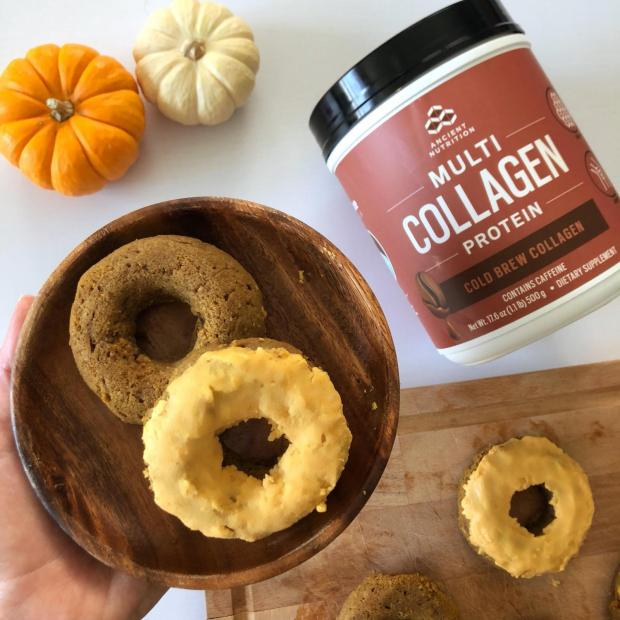 Dancing for Donuts | Pumpkin Spice Latté Protein Donuts