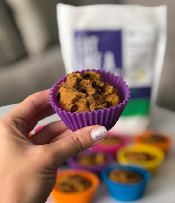 Dancing for Donuts | Pumpkin Protein Muffins