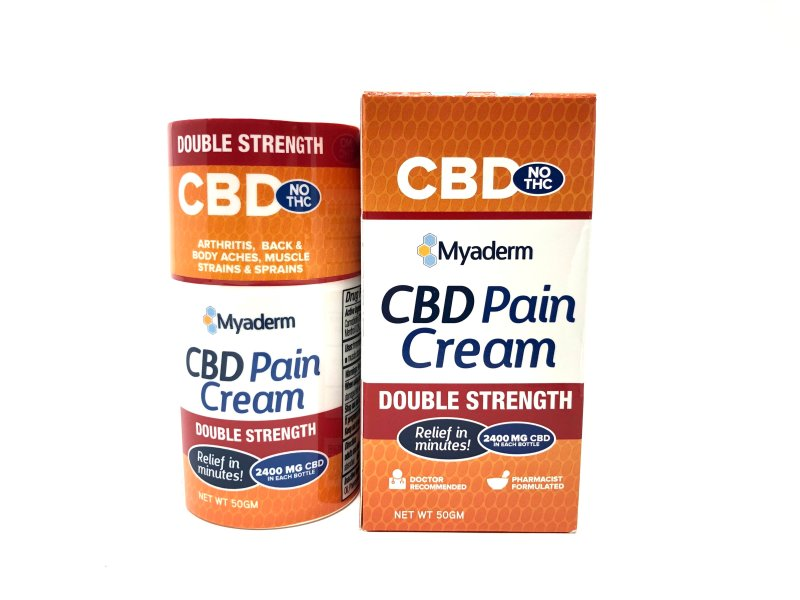 Mayaderm CBD Pain Cream Double Strength