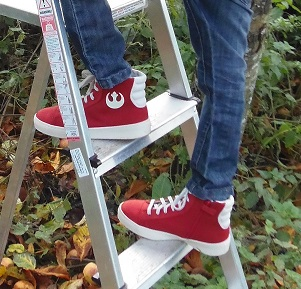 Star Wars Shoes By Po-Zu