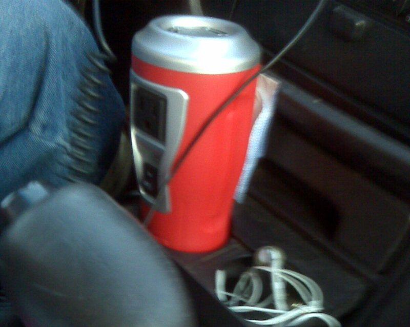 Ryan's power converter kept us in the lap of technological luxury