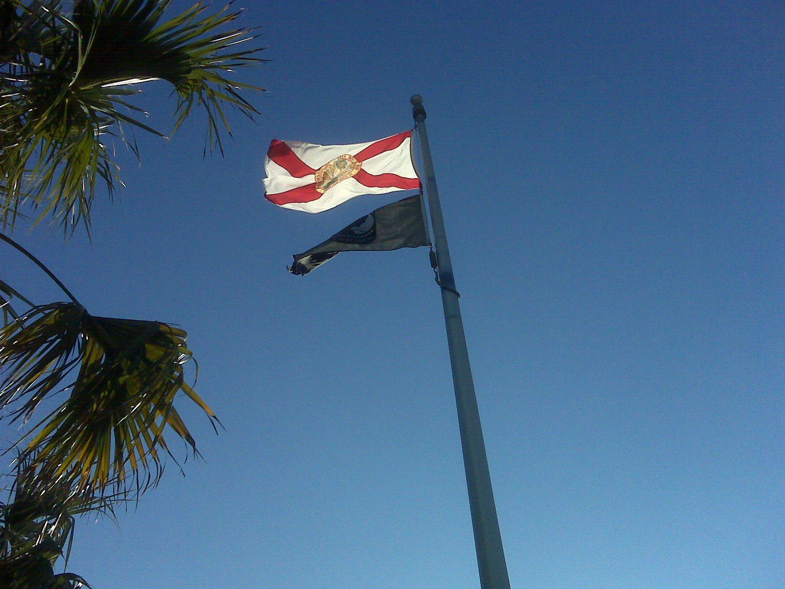 Florida and POW/MIA flag