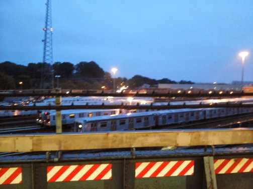 Broadway Junction Elevated Evening Views (3)