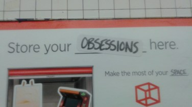 Store Your Obsessions in the Cube