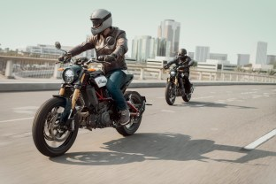 2019 Indian FTR 1200 S and the FTR 1200