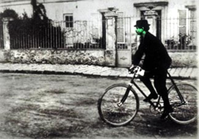 green jarry bike