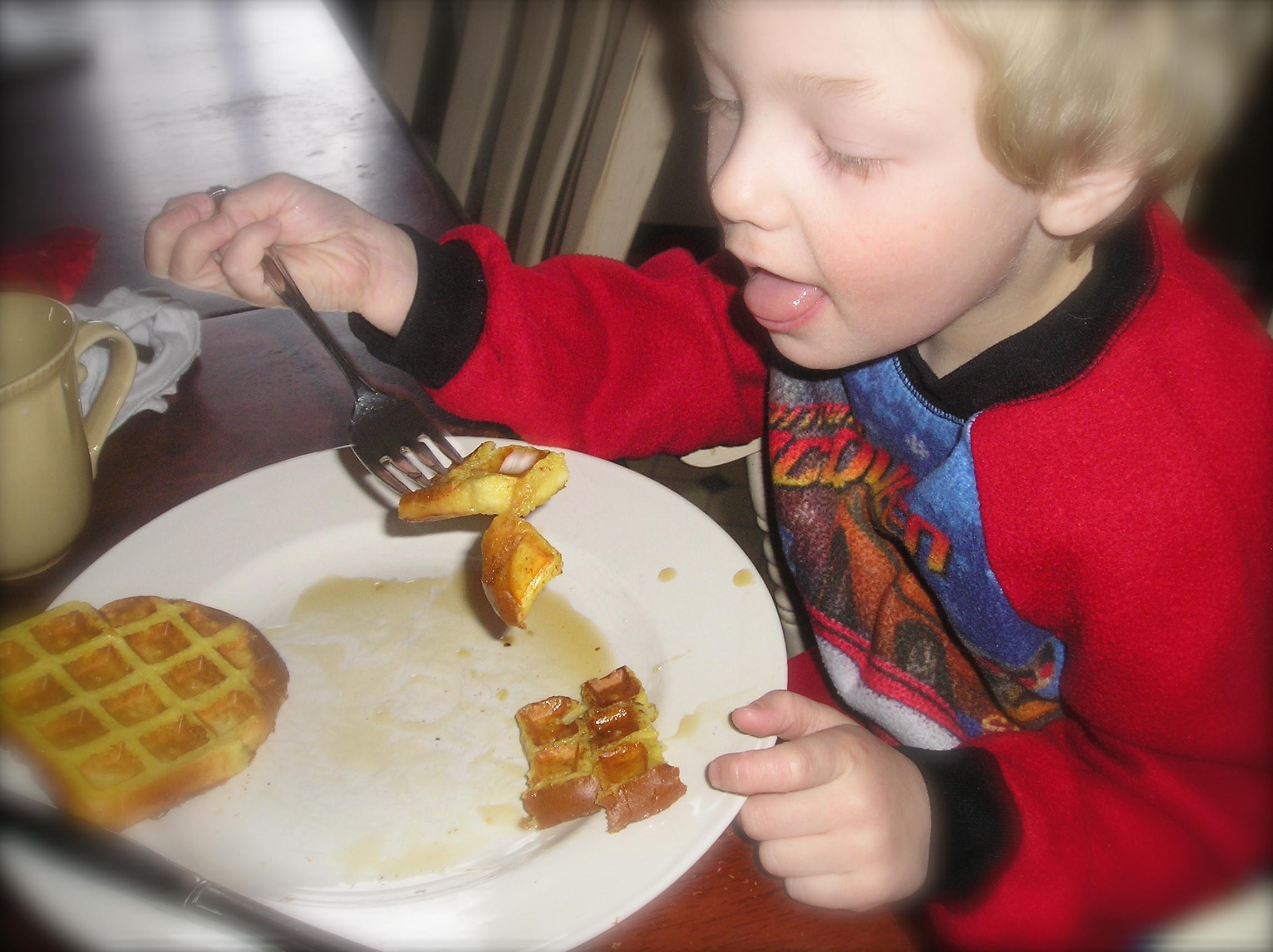 Graeme loves fraffles!