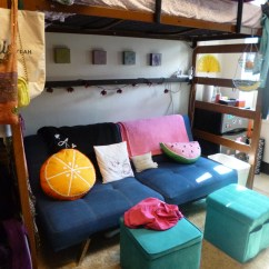 Rose Sofa Slipcover Contemporary Black Leather Futons For College Dorm Rooms | Home Decor