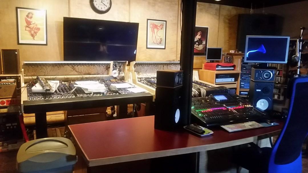 Recording Studio at Studio Winery in Lake Geneva