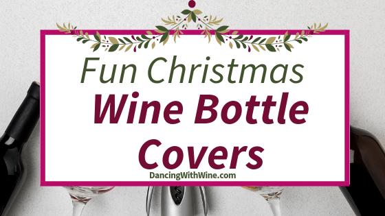 Fun Christmas Wine Bottle Covers
