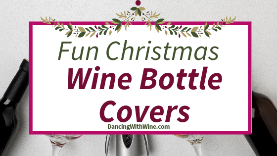 Fun Christmas Wine Bottle Covers