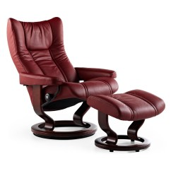 Stressless Chairs Reviews Bean Bag For Kids Ikea Wing Medium Recliner And Ottoman From 2 495 00