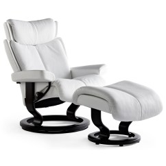 Stressless Chairs Reviews Dining Room Chair Styles Magic Large Recliner And Ottoman From 3 495 00