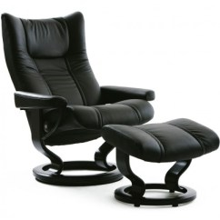 Recliner Vs Chair With Ottoman White Drafting Recliners Seating Living Furniture Danco Modern Just N Of Stressless Wing Large