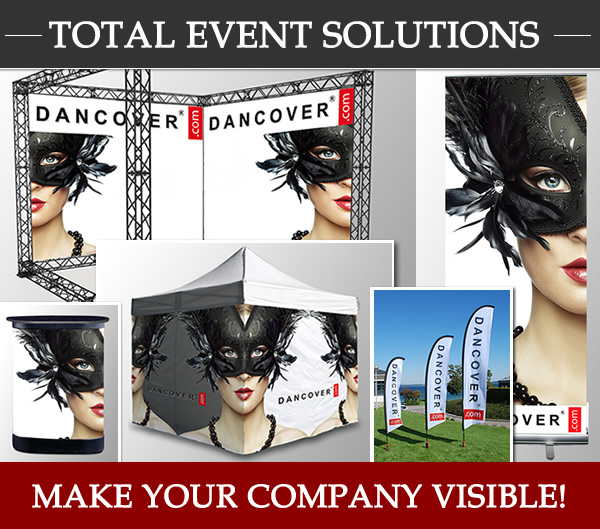 Dancover Total event solutions Make your company visible