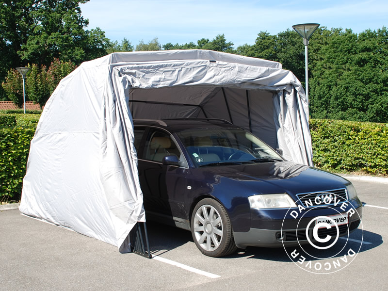 Folding garage for cars and motorcycles
