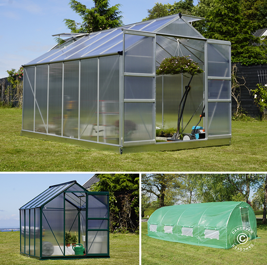 Greenhouses polytunnel and polycarbonate