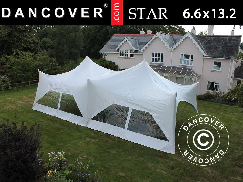 Pole tent Star marquee