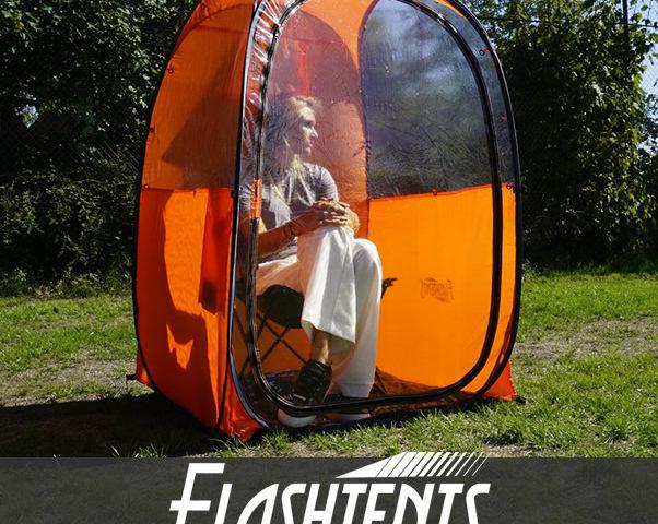 1-person spectator tent