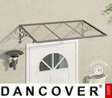 Door canopy 0.88x1.36 m Silver  sc 1 st  Dancover UK & Door canopies | Door canopies for doors and windows