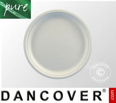 Disposable plates Ø26cm, 100 pcs. White