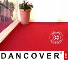Carpet 2x16 m Red, 400 g