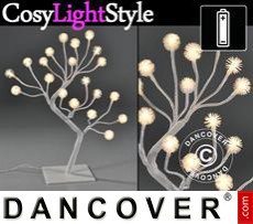 LED light tree, 45 cm, warm white