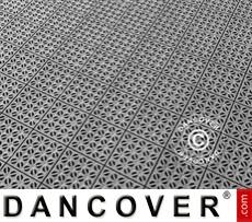 Plastic flooring Basic, Multiplate, Grey, 72.57 m²