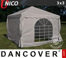 Party Marquee UNICO 3x3 m, Sand