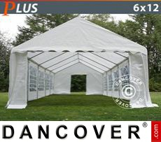 Party Marquee PLUS 6x12m PE, White