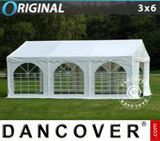 Party Marquee Original 3x6 m PVC, White