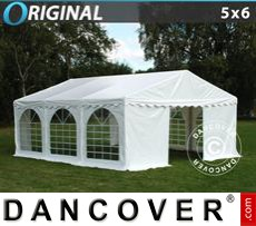 Party Marquee Original 5x6 m PVC, White