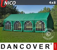 Party Marquee UNICO 4x8 m, Dark Green