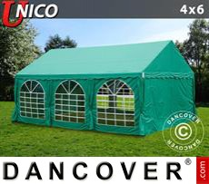 Party Marquee UNICO 4x6 m, Dark Green