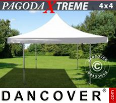 Pop Up Marquee Pagoda Xtreme 4x4 m / (5x5 m) White