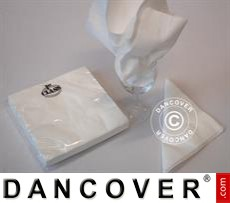 Napkins, 3 layers 80 pcs. White