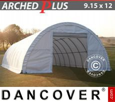 Boat shelter 9.15x12x4.5 m PVC, White