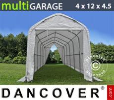 Camper Tent multiGarage 4x12x3.5x4.5 m, White