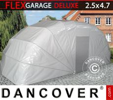 Folding garage (Car), 2.5x4.7x2 m, Grey