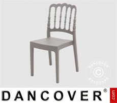 Event Furniture Chair, Napoleon, Grey, 6 pcs.