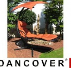 Garden Furniture Swing Lounger terracotta