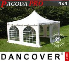 Garden gazebo PRO 4x4 m, PVC
