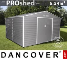 Garden shed 2.77x2.55x1.98 m ProShed, Grey/Brown