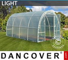 Greenhouse Light 2,2x4x1,9 m, Transparent